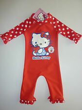HELLO KITTY Really Cute Little Red Sunsafe Suit NWT