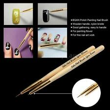 Polish Painting Nail Brush Nail Art Drawing Brush Pen Manicure Liner Tool 76QK