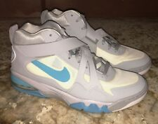 NEW Mens 11.5 NIKE Charles Barkley Air Force CB 2 Grey Basketball Shoes Sneakers