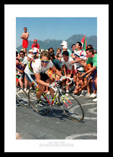 Greg Lemond 1990 3rd Tour de France Victory Cycling Photo Memorabilia