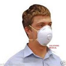 (BOX OF 20) N95 P2 RESPIRATOR FACE MASK WITH VALVE P2V QUALITY RESPIRATOR