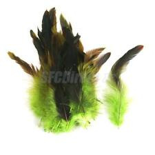 Multicolor Wholesale Craft Feathers 50pcs Rooster Feathers 12-18cm / 4-7inch