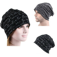 Mens Womens Chic Trendy Hip-Hop Warm Winter Cotton Knit Ski Beanie Skull Cap Hat