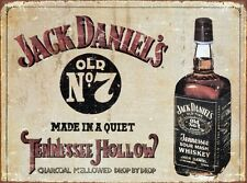 New Jack Daniels Old No 7 JD Metal Tin Sign