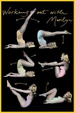 Marilyn Monroe Working Out with Marilyn Poster 61x91.5cm