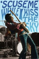 Jimi Hendrix Kiss The Sky Poster 61x91.5cm