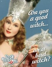 New The Wizard Of Oz Are You A Good Witch or Bad Witch? Metal Tin Sign