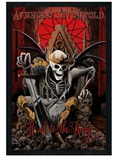 New Black Wooden Framed Avenged Sevenfold Hail To The King Poster