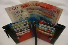 Ladies Leather Purse Wallet Organiser Large Top Brand in Gift Box