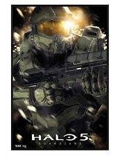 Halo 5 Guardians Gloss Black Framed Master Chief Maxi Poster 61x91.5cm