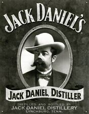 New Jack Daniels Distiller & Distillery Metal Tin Sign