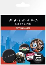 New Friends How You Doin'? Badge Pack