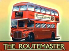 New The Routemaster London Transport Metal Tin Sign