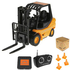 Cute RC Forklift Radio Remote Control Controlled Truck Car Lifting Arm Kids Toy