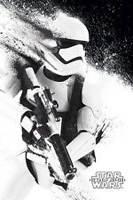 Star Wars Episode VII The Force Awakens Stormtrooper Paint Poster 61x91.5cm