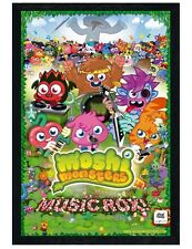 Moshi Monsters Black Wooden Framed Music Rox! Maxi Poster 61x91.5cm
