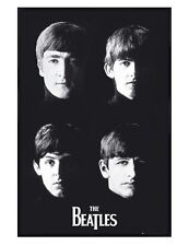 The Beatles Gloss Black Framed Liverpool Lads Maxi Poster 61x91.5cm