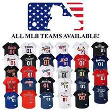 MLB Baseball Dog Jersey * ALL TEAMS AVAILABLE * Sports Fan Pet Puppy Tee Shirt