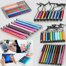 Universal Mini Extendable Stylus Clip Ball Point Touch Screen Pen For Smartphone