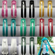 Free Dispatch Vocaloid Hatsune Miku Show Anime Wig Long Cosplay Party Hair Wigs