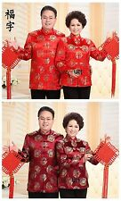 Chinese Traditional Men's/Women's Jacket Coat Lovers' Clothes Outerwear M--4XL