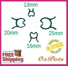Plastic Garden Plant Clip Rings 4 Sizes - Great for Beans, Tomato, Cucumbers