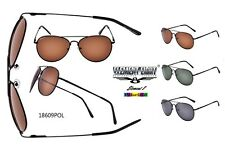 New Element Eight Polarized Aviator Sunglasses Metal Frame Driving Golf 18609pol