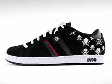 DVS Skate Shoes Shoes Lace Up Shoes Taylor black leather Print