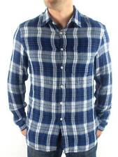 Gas Long-sleeve Shirt Checkered Flannel Puny blau Breast pocket Buttons