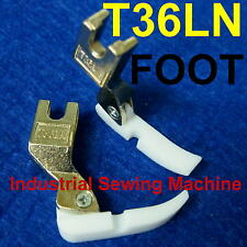 1 Left Narrow Hinged Cording Zipper Presser Foot T36ln Industrial Sewing Machine