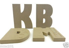 MDF Freestanding Wooden Name Engraved Letters