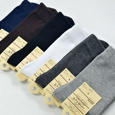 Hot Warm Winter Lot 1/6/12 Pairs Men 7 Styles Cotton Solid Ankle Crew Socks