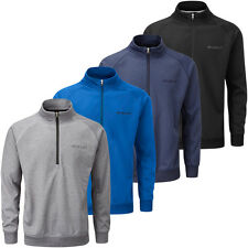 Stuburt 2016 Mens Essentials Half Zip Neck Golf Wind Sweater Pullover Top