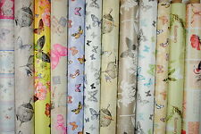 Butterfly Tablecloth Wipe Clean Oilcloth Vinyl PVC All Designs 140 x150cm