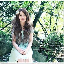 New Fashion Long Wave Curly women's Girl full Hair Wig cosplay wig Full Wigs+Cap