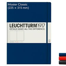 LEUCHTTURM 1917 MASTER A4+ NOTEBOOK - 2 colours with various page styles