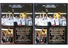 San Antonio Spurs 2007 NBA Champions Photo Plaque Tim Duncan Tony Parker MVP