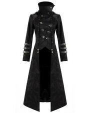 Punk Rave Scorpion Mens Coat Long Jacket Black Gothic Steampunk Hooded Trench