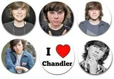 """Set of 6 Chandler Riggs 1.25"""" Pinback Button Flat Back Or Magnets"""