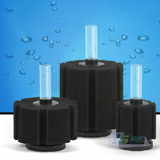 Aquarium Biochemical Bio Sponge Foam Filter for Aquarium Fish Tank Pond S M L