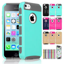 Hybrid Shockproof Dirt Dust Proof Hard Matte Protector Cover Case For iPhone 5C