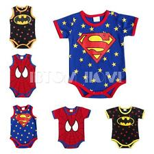 One-piece Toddlers Baby Boys Superhero Romper Jumpsuit Cartoon Clothes Bodysuit