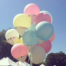 2× Colorful 36'' Balloon Ball  Big Latex Balloons For Birthday Party Decoration