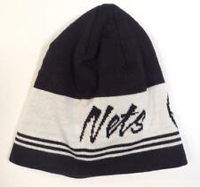 new NBA aDiDas originals authentic brooklyn nets cuffless knit beanie/hat cap