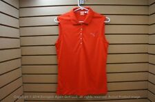 NWTags Womens Puma Cool Cell Golf Polo Size Small Red 00099470
