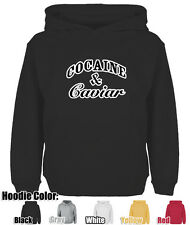 Mens Womens COCAINE AND CAVIAR CROOKS AND CASTLES LIL WAYNE YM Sweatshirt Hoodie