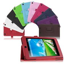 Folio Luxury PU Leather Case Cover Stand For Acer Iconia One 7 B1-730HD Tablet