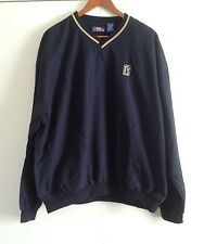 PGA Tour Blue Men's Linned Warmup Pullover Size: Large