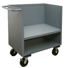 Durham 3 Sided Low Deck Mobile Office Stock Truck Polyurethane Casters 48 x 24