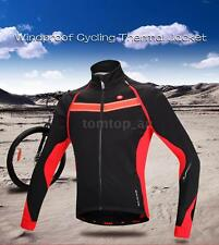 Windproof Winter Thermal Fleece Coat Jacket Vest for Outdoor Cycling K8XX